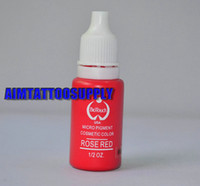 Wholesale Biotouch Permanent Makeup Ink oz Micro Pigment cosmetic colour Rose Red makeup tattoo pigment
