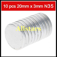 Permanent neodymium magnets - Strong Disc Round Rare Earth Neodymium Magnets N35 Craft Model mm x mm