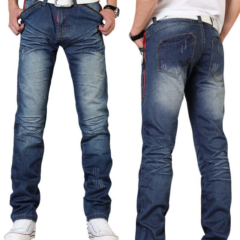 2017 Top Quality Cheap Men Designer Jeans Casual Straight ...
