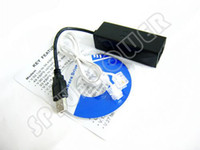 Wholesale USB Fax Modem External K Data Voice V9 for Win7 RJ11 Ethernet Dialup Phone Cable