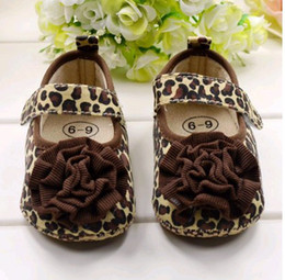 Wholesale Hot sale baby leopard shoes baby first walker kids children boots pairs