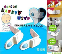 Wholesale Baby safety products baby care drawer safety lock door locks baby infant safety cabinet lock