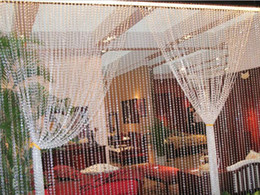 free shipping by ups , elegant crystal event decor beaded curtain