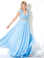Wholesale 2013 Sexy Halter Cap Sleeve Beaded Ruffle Chiffon Plus Size Evening Dresses Bridesmaid Prom Dresses