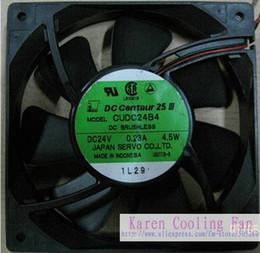 Original Japan servo 120*120*25MM 24v 4.5w CUDC24B4 Inverter cooling Fan