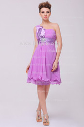 Wholesale 2013 New Sexy Cocktail Dress One Shoulder Beads Little Mini Short Sexy Party Dresses DH4095
