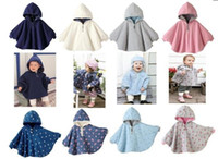 Boy Thanksgiving Day 1-2T Two-sided wear Reversible baby capes jackets cloaks baby romper babies clothing infants