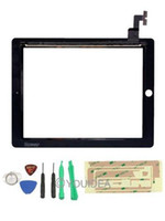 Wholesale Replacement Touch Screen Digitizer LCD TFT Display for Apple iPad st Gen Black Tools Kit
