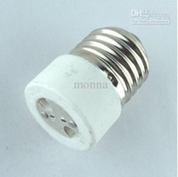 Wholesale 10pc E27 to MR16 lamp holder adapter Adapter Converter Led Halogen CFL light adapter MR16 E27 L