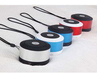 Wholesale Mini Bluetooth Speaker Wireless HiFi Loudspeaker For iPhone MP4 MP3 Tablet PC Music Player