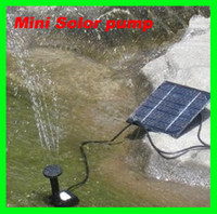 Wholesale Solar Power Fountain Pool Water Pump Garden Plants Watering Kit Low Carbon Garden Watering outdoor