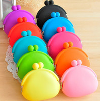 Wholesale 20 Silicone Coin Purse Lovely Coin Bag Silicone Money Bag Puse Coin Wallet