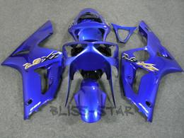 blue Fairing kit for 2003 2004 KAWASAKI Ninja ZX-6R 03-04 ZX6R 636 ZX 6R 03 04 Injection mold Fairings