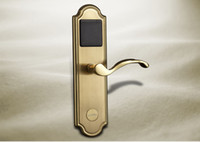 Lever Lock hotel lock - Hotel Door Lock Open by Card With Automatic Anti False Fuction and Software