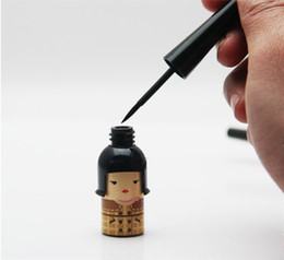 Wholesale 3pcs Lucky chaomeng Doll black eyeliner waterproof and sweat hard head cartoon images eyeliner