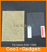 Wholesale Clear Screen Guard Protector film Cover for Canon EOS D NO Retail Package MSP593