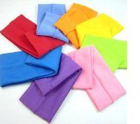 Wholesale new candy colored sport guard head wide headband Korean hair sieve headband unisex hair band
