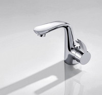 Thermostatic Faucets basin wrenches - Bathroom Sink Faucets All copper Wrench Type Washbasin Glass basin mixing valve Hot and cold taps