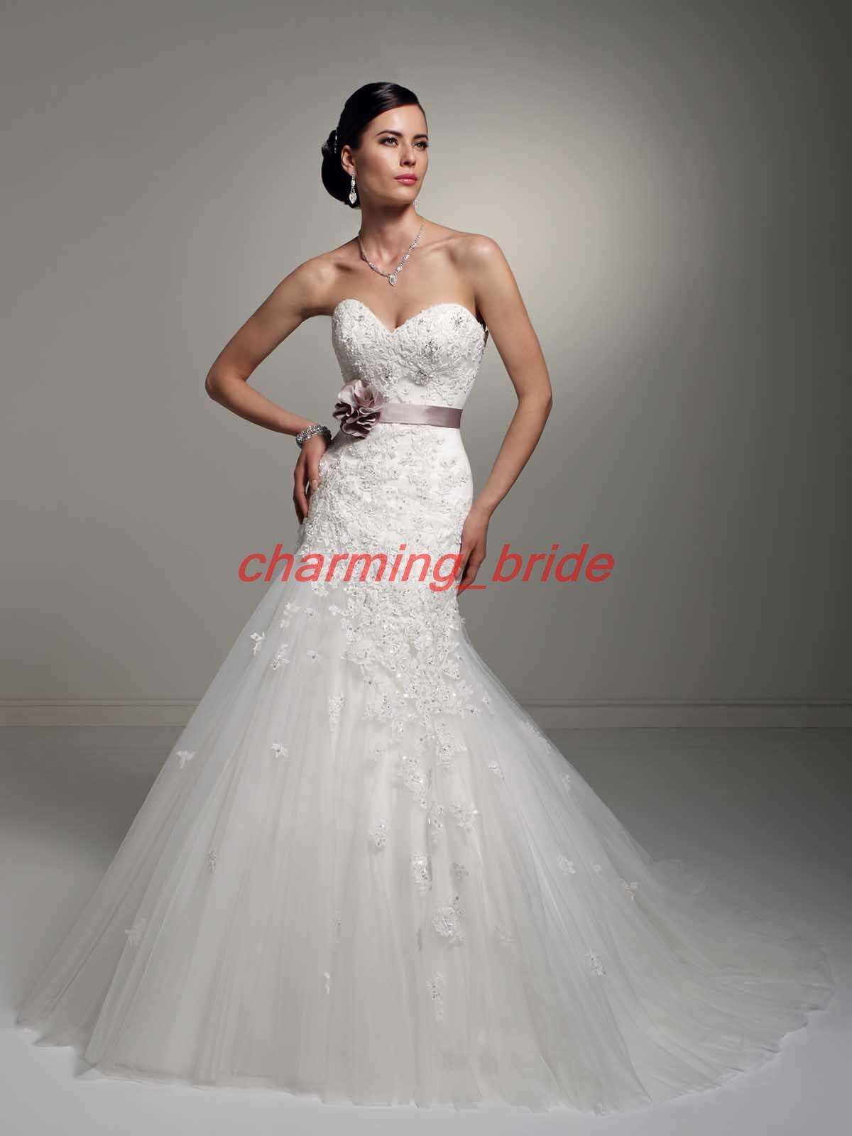 2013 Designer Mermaid Sweetheart Bridal Gowns Wedding Dresses ...