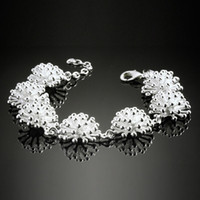 Bohemian silver925 jewelry - 2013 Fashion Women s Silver Bracelet Noble Silver925 Jewelry Romantic Head Chain SG34