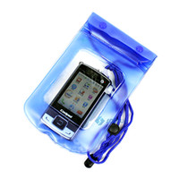 beach camera - Waterproof Pouch for Camera Phone Case Bag when Swimming and on Beach