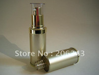 Wholesale 30ML gold airless plastic lotion bottle wiith airless pump can used for Cosmetic Sprayer