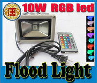 Wholesale 10W Waterproof Floodlight Landscape Lamp RGB LED Flood Light Outdoor LED Flood Lamp DHL free