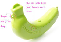 Plastic banana lunch box - Banana Guard Container Storage Lunch Fruit Protector Plastic Box Banana Case