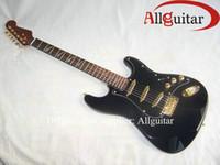 jaguar - JAGUAR inlaid fretboard Black Gutiar China Guitar