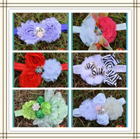 Cheap Fashion Flower Clips Flower Hair Accessories hot sale Unique artificial hair flower-48pcs Lot(08)