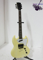 yellow Right-handed Solid Body best chinese guitar custom sg cream colour electric guitar China guitar