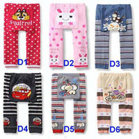 Wholesale Cute Animal Print Cotton Tights Busha Baby Pants kids leggings Baby Clothing