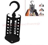 Wholesale Magic Foldaway Clotheshorse Space Hanger Organizer Space Saving Scarves Rack