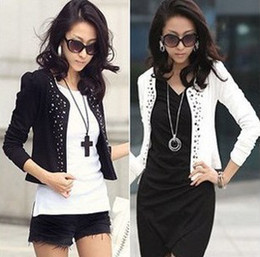 Wholesale New Korea Fashion Lady Women Long Sleeve Shrug Spring clothing coat colors sizes