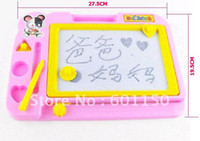 Wholesale Magnetic Writing board with brush and three blocks shape discount discount