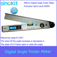 Wholesale 400mm Digital Angle Finder Meter Protractor Spirit Level SK99G