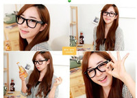 Wholesale Fan Bingbing paragraph rivets glasses frame upgraded version of the retro black rimmed glasses