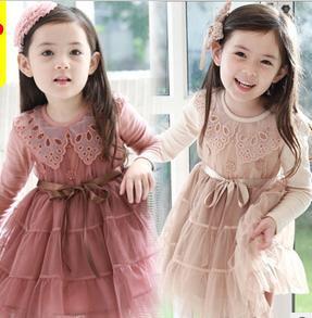 Girl long sleeve dresses - Long dress style