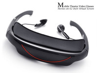 Wholesale Mobile Theatre Video Glasses Movies on Inch Virtual Screen