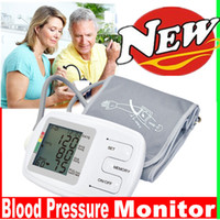 auto arms - Updated with Speaker Fully auto arm blood pressure BP monitor Easy read LCD display memory recall