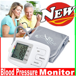 Wholesale CE Fully auto arm blood pressure BP monitor Easy read LCD display memory recall