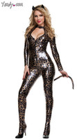 sexy pussy - sexy uniform tail cat dress pussy cat conjoined twin pack Ladygaga costumes leopard grain sexy