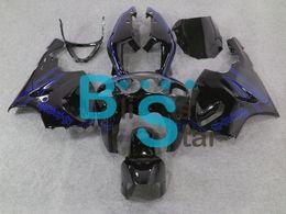 Wholesale blue black Fairing kit for KAWASAKI Ninja ZX R ZX7R ZX R Motorcycle Fairings bodykit gifts KU24