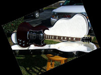 Solid Body 6 Strings Mahogany best SG Standard Vintage Cherry Finish Mahogany Body and Neck Baked Maple FB electric guitar OEM Ava