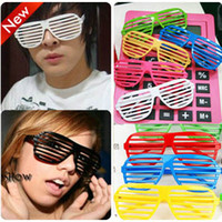 Wholesale 12 Pairs of s Shutter Shade Sunglasses Party Favors Novelty Eyewear Worldwide