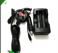 Wholesale 5 pieces New AC Wall Dual Battery Charger with Car Charger US EU Plug