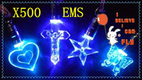 New Year april necklace - 500pcs Cheap led necklace Fashion wedding party necklace EMS