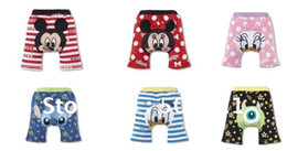 Wholesale Baby Summer Animals Cotton Trousers Infants Cartoon Baby short PP Pants Boy s Girl s Warmers Kids ti
