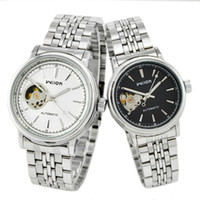 Wholesale Genuine Veyron wilon automatic mechanical watches couple hollow mechanical watches Korean couple wat