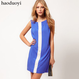 Wholesale Mango Colour Block Dress